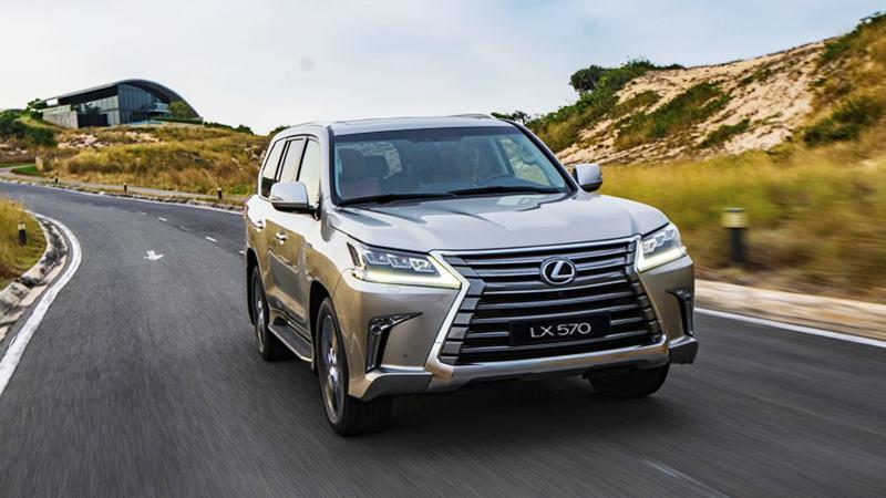 Giá bán xe Lexus LX 570 2020 tại Việt Nam từ 8,34 tỷ đồng - Ảnh 1