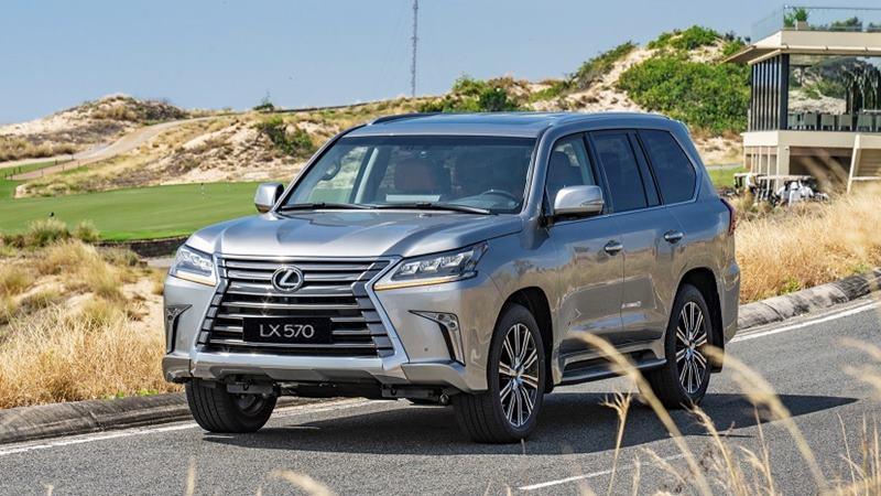 Giá bán xe Lexus LX 570 2020 tại Việt Nam từ 8,34 tỷ đồng - Ảnh 2