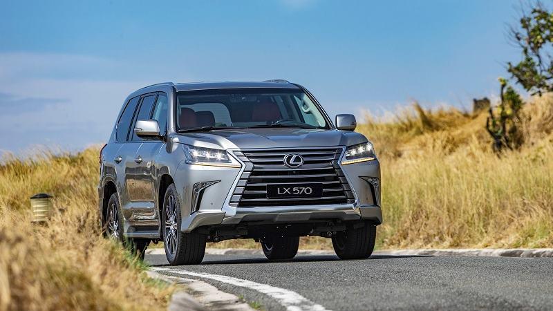 Giá bán xe Lexus LX 570 2020 tại Việt Nam từ 8,34 tỷ đồng - Ảnh 4