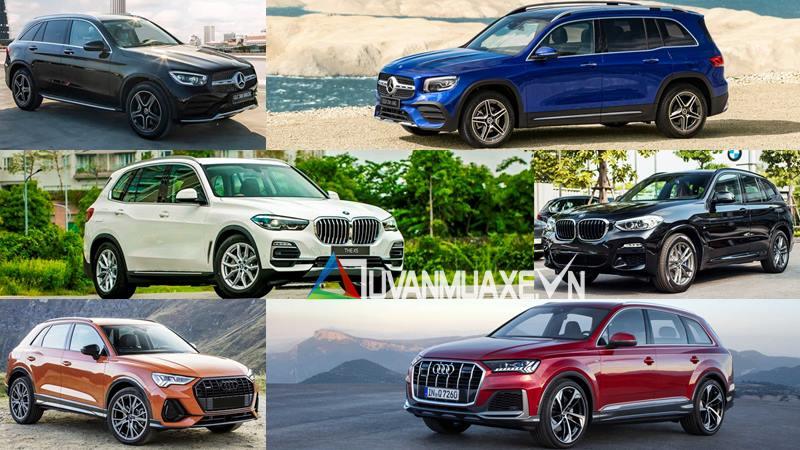 So sánh giá xe SUV Audi, BMW và Mercedes 2020 tại Việt Nam - Ảnh 1