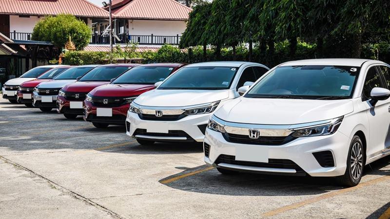 So sánh khác biệt trang bị 3 phiên bản Honda City 2021 mới - Ảnh 1