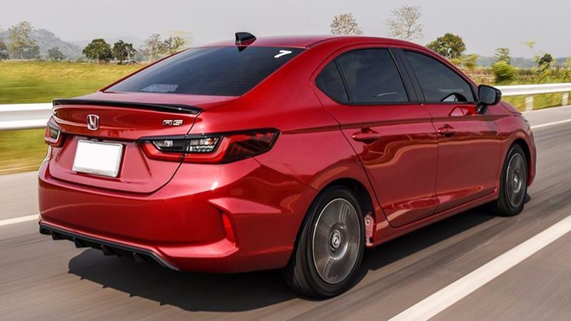 So sánh khác biệt trang bị 3 phiên bản Honda City 2021 mới - Ảnh 9