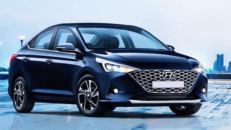 Hyundai Accent 2021 mới nâng cấp - Ảnh 1