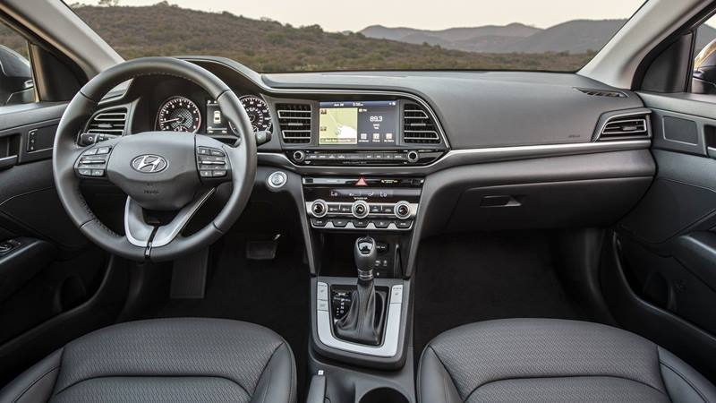 Hyundai Elantra 2019 phiên bản mới nâng cấp - Ảnh 5