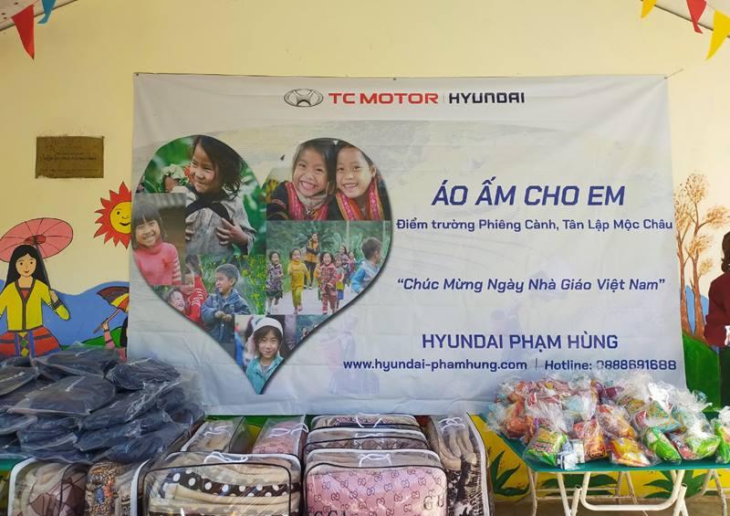Áo ấm cho em - Hành trình sưởi ấm những trái tim của Hyundai Phạm Hùng - Ảnh 2