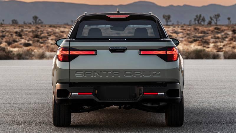 Xe bán tải Hyundai Santa Cruz 2022 trang bị động cơ xăng - Ảnh 3