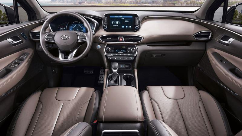 Chi tiết xe Hyundai SantaFe 2019 thế hệ hoàn toàn mới - Ảnh 9