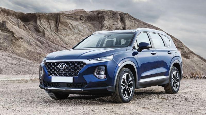 Chi tiết xe Hyundai SantaFe 2019 thế hệ hoàn toàn mới - Ảnh 1