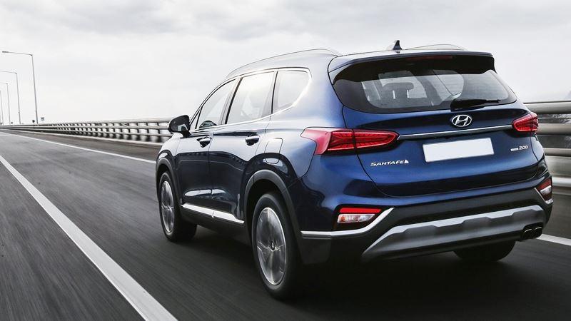 Chi tiết xe Hyundai SantaFe 2019 thế hệ hoàn toàn mới - Ảnh 8