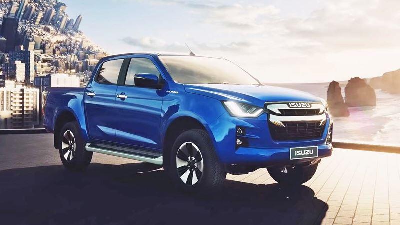 Xe bán tải Isuzu D-MAX 2020 thế hệ mới đẹp hơn, tiện nghi hơn - Ảnh 1