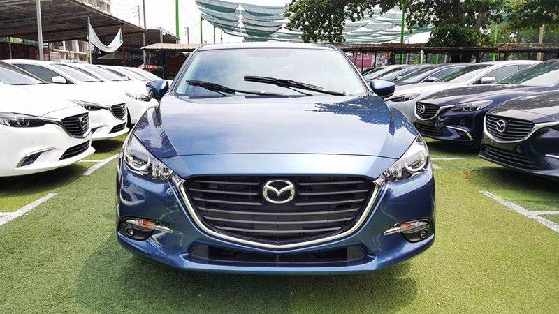 Các đời xe hiện có tại cửa hàng Mazda Vinh