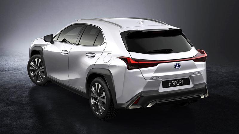 Lexus UX 2019 hoàn chỉnh mới - đối trọng của BMW X1, MINI Countryman - Ảnh 3