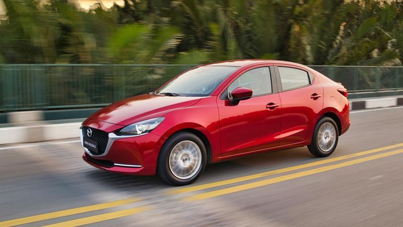 Thông số kỹ thuật và trang bị xe sedan Mazda 2 2020 mới tại Việt Nam - Ảnh 1