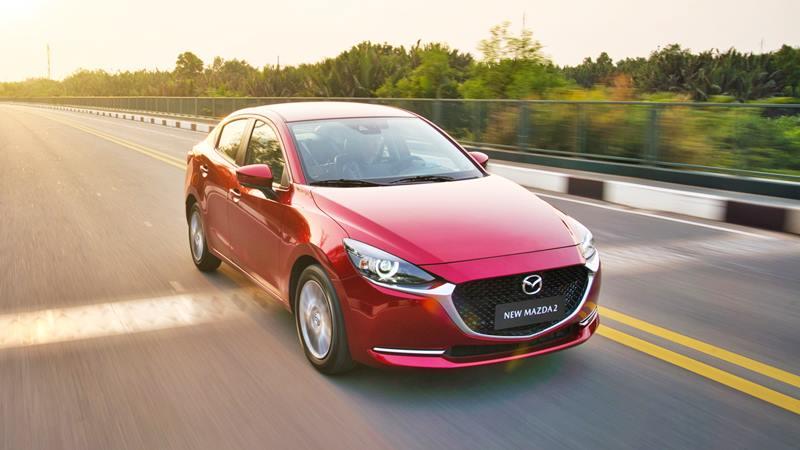 Thông số kỹ thuật và trang bị xe sedan Mazda 2 2020 mới tại Việt Nam - Ảnh 2
