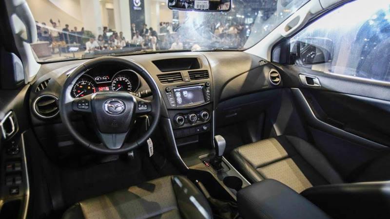 Thông số kỹ thuật và trang bị xe Mazda BT-50 2018-2019 tại Việt Nam - Ảnh 4