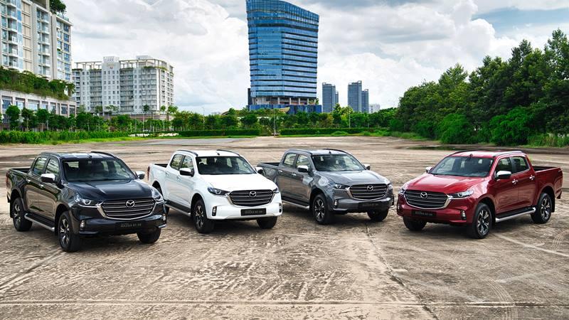 Giá bán xe Mazda BT-50 2021 tại Việt Nam từ 659 triệu đồng - Ảnh 1