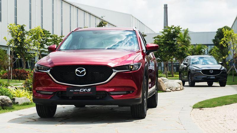 Màu Xe Cao Cấp Mazda Cx 5 Mới Tại Việt Nam đỏ Xám Trắng
