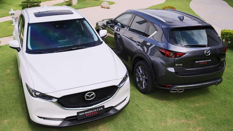 Thông số kỹ thuật và trang bị xe Mazda CX-5 2019 thế hệ 6.5 mới - Ảnh 8