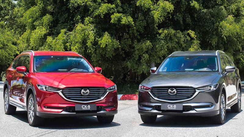 Mazda CX-8 2019 chính thức bán tại Việt Nam - giá từ 1,149 tỷ đồng - Ảnh 1