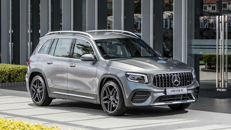 Xe 7 chỗ Mercedes-AMG GLB 35 4MATIC có giá bán 2,69 tỷ đồng - Ảnh 1