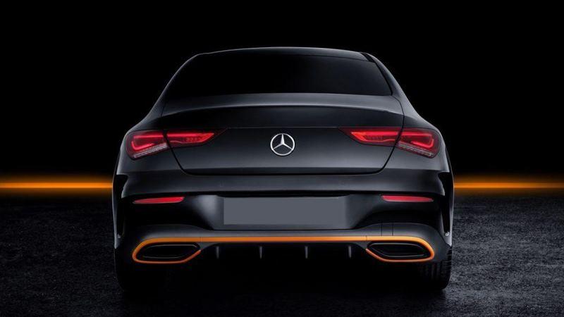 Xe coupe 4 cửa Mercedes CLA 2020 thế hệ mới - Ảnh 3