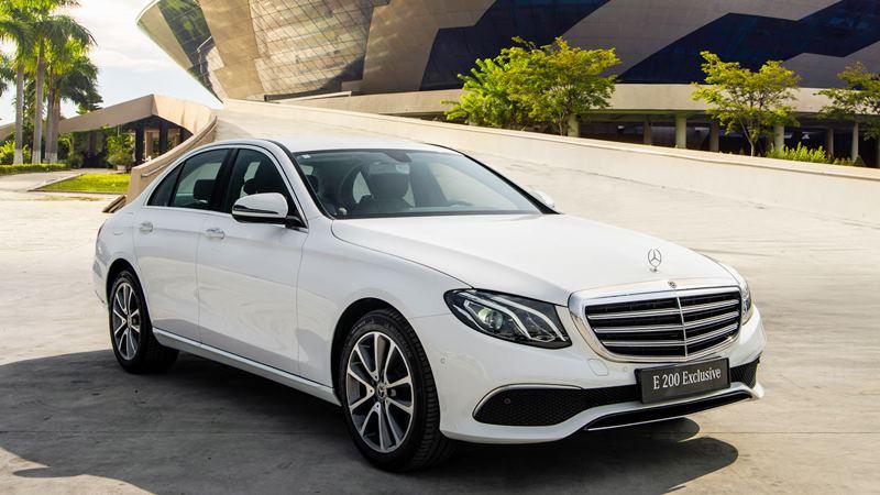 Mercedes E 200 Exclusive 2020 mới tại Việt Nam có giá 2,29 tỷ đồng - Ảnh 1