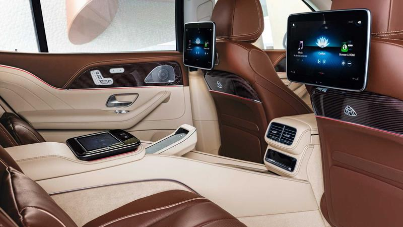 SUV siêu sang Mercedes-Maybach GLS 2020 hoàn toàn mới - Ảnh 8