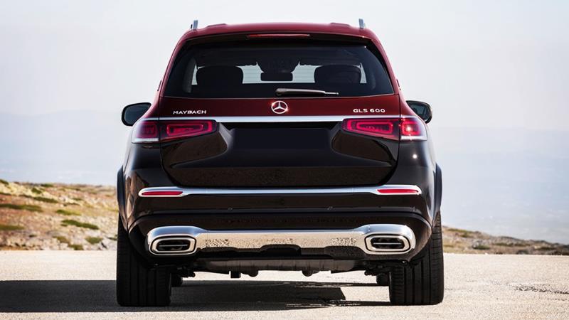 SUV siêu sang Mercedes-Maybach GLS 2020 hoàn toàn mới - Ảnh 3