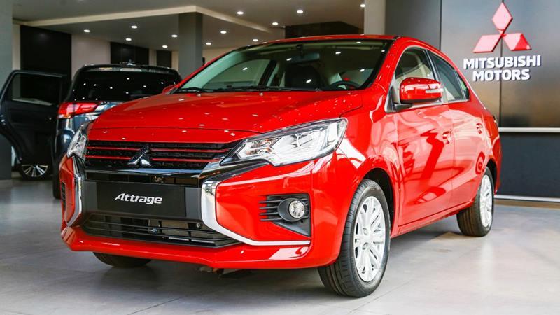 Thông số kỹ thuật và trang bị xe Mitsubishi Attrage 2020 tại Việt Nam - Ảnh 2