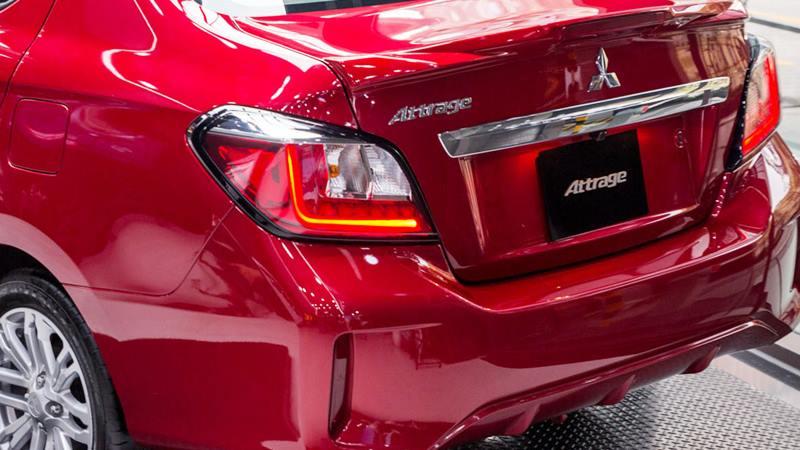 Thông số kỹ thuật và trang bị xe Mitsubishi Attrage 2020 tại Việt Nam - Ảnh 6