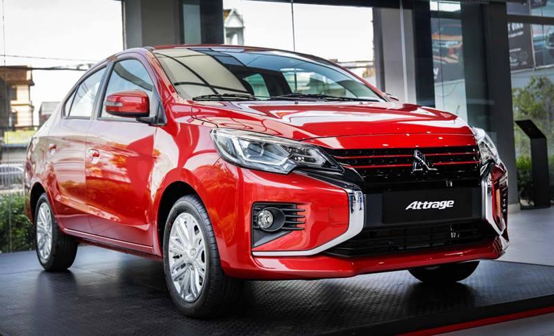 Bản cao cấp Mitsubishi Attrage Premium 2021 có giá 485 triệu đồng - Ảnh 1