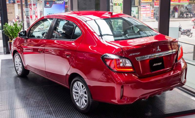 Bản cao cấp Mitsubishi Attrage Premium 2021 có giá 485 triệu đồng - Ảnh 2