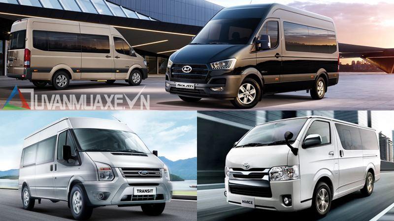 Mua xe 16 chỗ - chọn Ford Transit, Hyundai Solati hay Toyota Hiace - Ảnh 1
