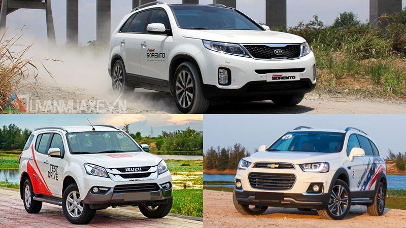 Mua xe SUV gầm cao 7 chỗ giá 800-900 triệu đồng năm 2017 - Ảnh 1