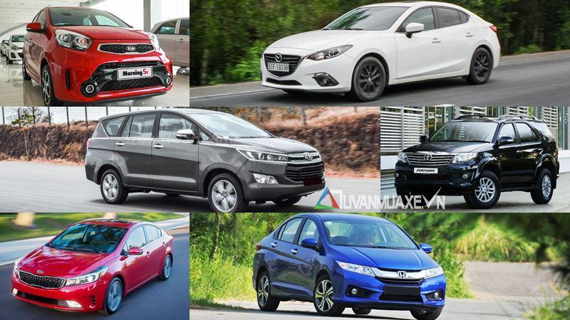 Những dòng xe ô tô bán chạy nhất thị trường Việt Nam tháng 8/2016 - Ảnh 1