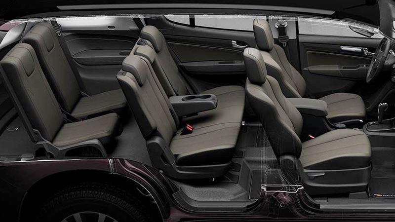So sánh xe Toyota Fortuner và Chevrolet Trailblazer 2018 - Ảnh 12