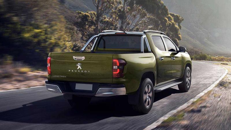 Xe bán tải Peugeot Landtrek 6 chỗ ngồi hoàn toàn mới của hãng xe Pháp - Ảnh 9