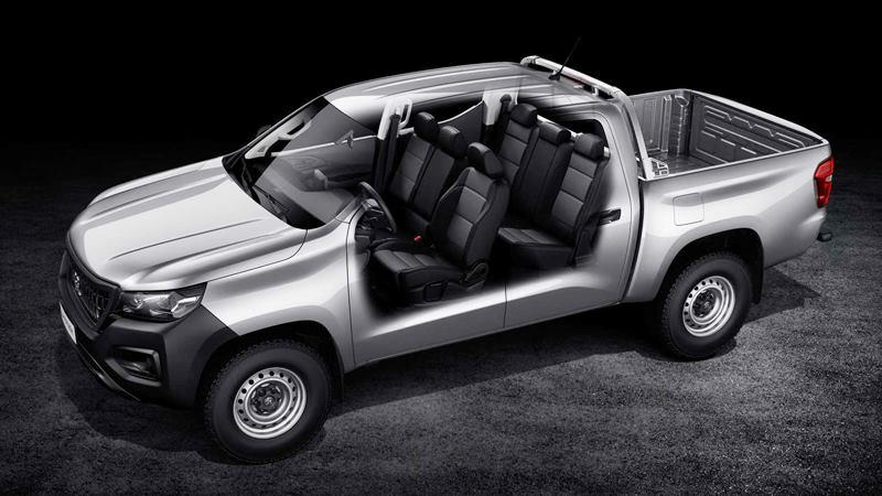 Xe bán tải Peugeot Landtrek 6 chỗ ngồi hoàn toàn mới của hãng xe Pháp - Ảnh 10
