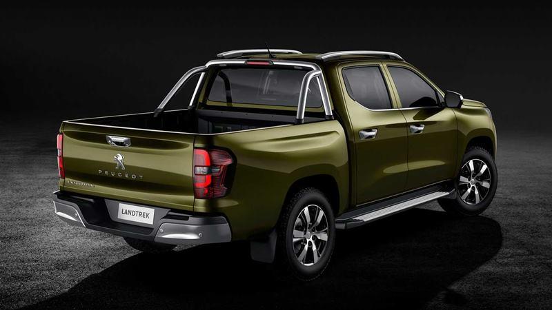 Xe bán tải Peugeot Landtrek 6 chỗ ngồi hoàn toàn mới của hãng xe Pháp - Ảnh 4