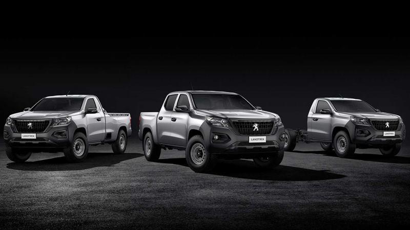 Xe bán tải Peugeot Landtrek 6 chỗ ngồi hoàn toàn mới của hãng xe Pháp - Ảnh 2