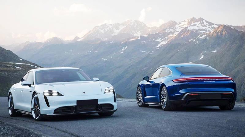 Giá bán xe điện Porsche Taycan tại Việt Nam từ 5,7 tỷ đồng - Ảnh 1