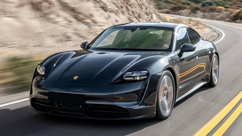Giá bán xe điện Porsche Taycan tại Việt Nam từ 5,7 tỷ đồng - Ảnh 4