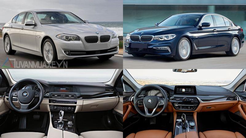 BMW 5-Series 2018 có gì nổi bật so với phiên bản cũ? - Ảnh 1