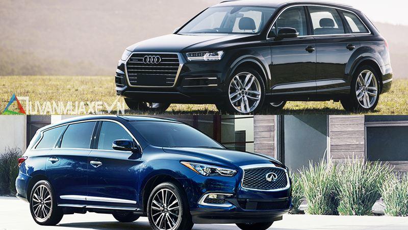 So sánh xe Audi Q7 và Infiniti QX60 2017 tại Việt Nam - Ảnh 13