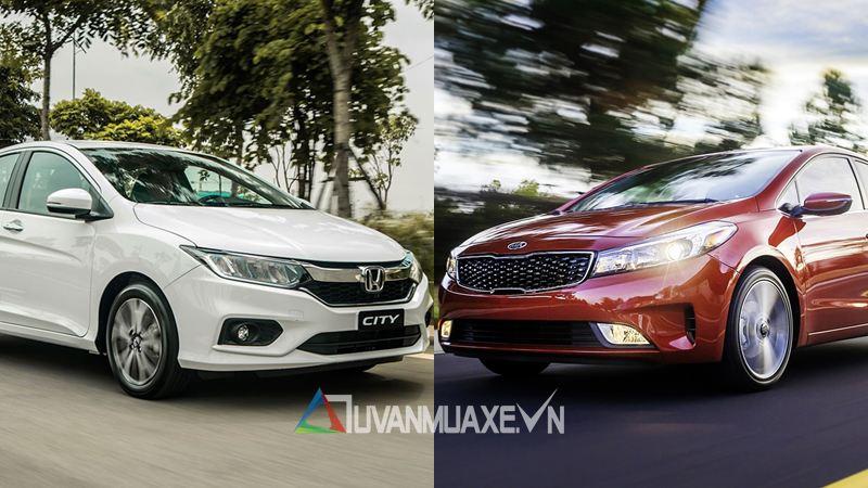 So sánh Honda City và Kia Cerato