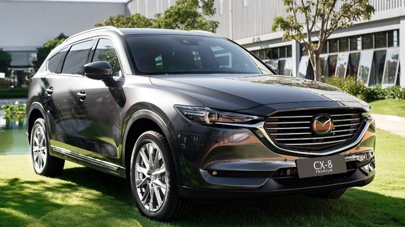 So sánh xe Mazda CX-8 và Honda CR-V 2020 - Ảnh 2