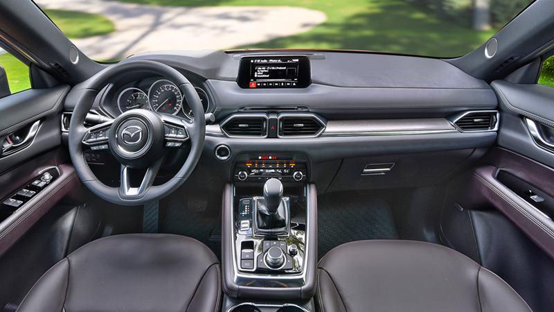 So sánh xe Mazda CX-8 và Honda CR-V 2020 - Ảnh 8