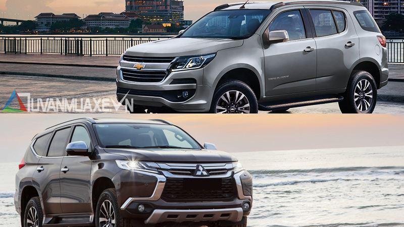 So sánh xe Mitsubishi Pajero Sport và Chevrolet Trailblazer 2018 - Ảnh 14