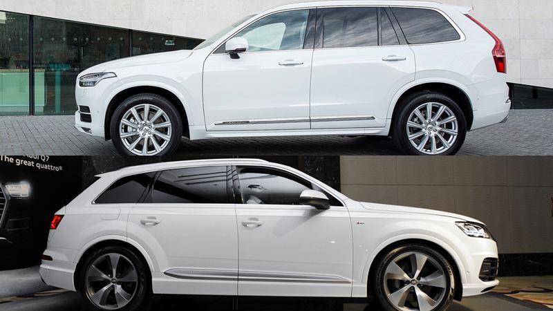So sánh xe Audi Q7 và Volvo XC90 2018 tại Việt Nam - Ảnh 6