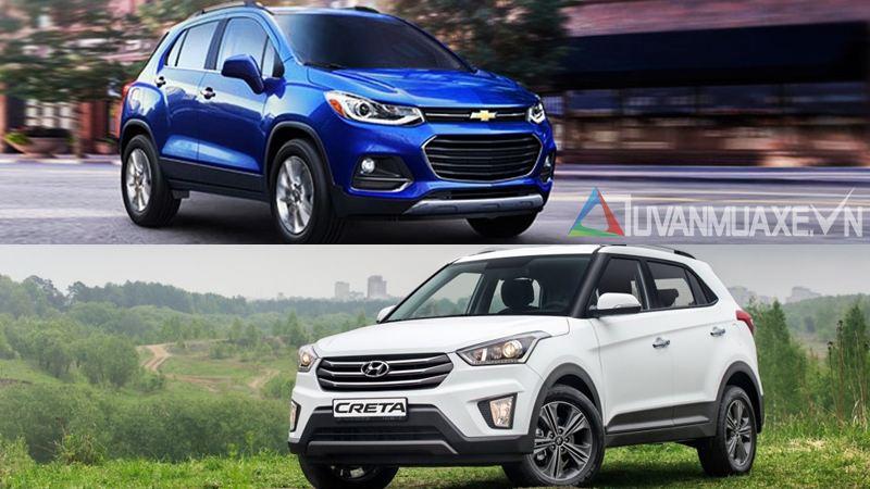 So sánh xe Chevrolet Trax và Hyundai Creta tầm giá 800 triệu - Ảnh 6